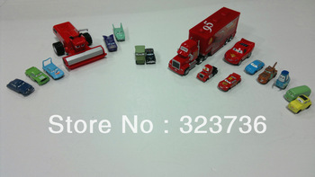 PIXAR  Toys CARS 2 17pcs/set cars models free shipping
