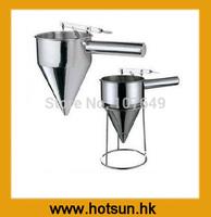Free Shipping Stainless Steel Funnel for Batter Dispenser