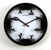 Geekcook fresh water crab wall clock free air mail