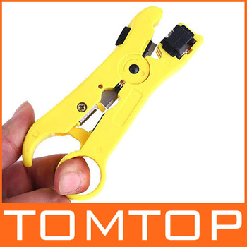Network Phone Cable Wire Stripper Cutter Hand Tool Kit for UTP STP RG59/6/7/11 CAT5 , Free / Drop Shipping Wholesale
