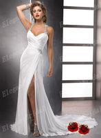 2013 Cheap Elegant Fashion Designer Discount Destination Unique Beach Bridal Wedding Dresses/Gown On Sale