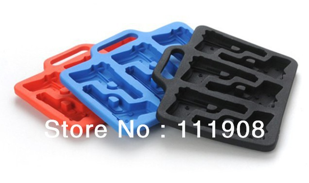 Free Ship/EMS,DIY color pistol/gun ice cube mold,ice tray maker for home bar drinking for relieve summer heat,summer cool supply(China (Mainland))