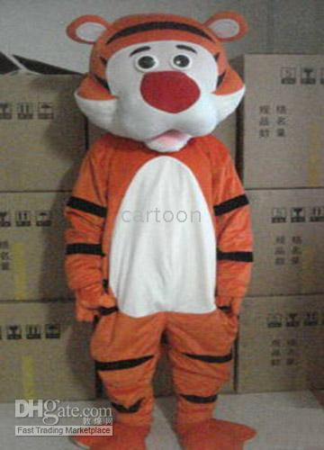 Tiger Halloween Costume Christmas Adult Mascot(Hong Kong)