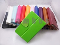 200pcs/lot Universal PU Leather Case for Tablet PC 7 inch free shipping