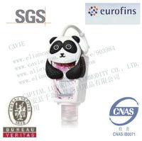 30ml  Hand Sanitizer With Kung Fu Panda Shape Silicon Holder