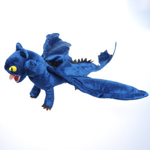 How to Train Your Dragon Toothless Night Fury Power Plush Stuffed Toy