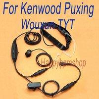 Military Throat Vibration Microphone for Kenwood WOUXUN Quansheng Puxing Baofeng Two way radio