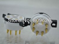 High quality ceramic 8pin Vacuum Tube Sockets 10pieces