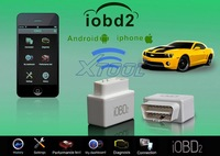 XTool Code Reader iOBD2 Car Doctor vehicle OBD2 / EOBD work with iPhone by WIFI Support 10 languages