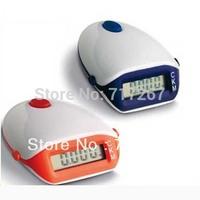 LCD Run Step Pedometer Walking Distance Calorie Counter  10pcs wholesale Freeshipping
