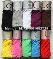 10pcs a lot High Quality 22colors Cotton Underwear Man Boxer Shorts  U03