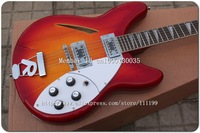 High Quality -   360 12 string Electric Guitar in cherry sunburst wholesales [Free Shipping]  ( No Case )02