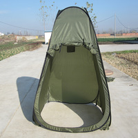 Pop-up bathing tent, toilet tent, shower foldable cover for zipper door, shower tent