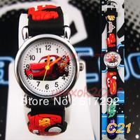 PixarCar Cars Children Quartz Wrist Watch Party Birthday Xmas gift C21