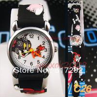 Tom Jerry Cartoon Children Quartz Wrist Watch Party Birthday Xmas gift C26