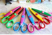 Decorative Wave lace Edge Craft Scissors DIY for Scrapbook/Photo Album Handmade Kids Artwork Card Safe 6 designs ST0851