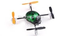 free shipping 2.4G 3D Walkera Micro 4CH UFO RC QR Ladybird V2 mini UFO Quadcopter RTF w/ 4ch Transmitter Devo4  TX RTF Set gift