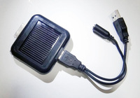 1350mAh 5V Solar External Backup Battery Charger for iPhone 3G 3GS 4 4S 4G