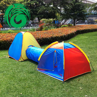 Triangle set folding portable children tent, large game house child tent ,pop-up tent