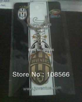 Italy Juventus  bronze metal keychain /  retro key