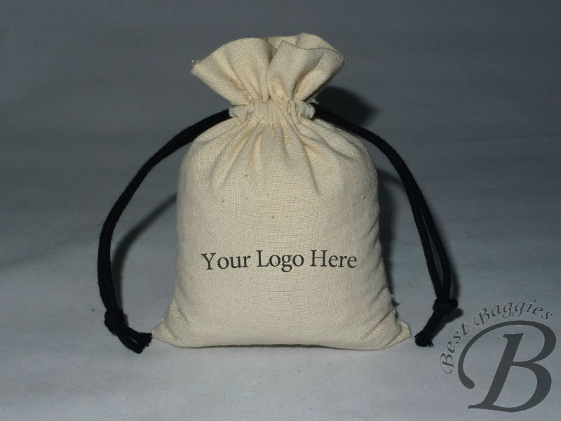 Eco-friendly cotton gift packaging bags, drawstring design, 100% cotton fabric(China (Mainland))