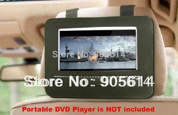 "Car Headrest Mount Case  for 7"" or 7.5"" Portable DVD Player Harness Holder Bag"