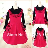 FREE SHIPPING Children's clothing  children dress double faced dress child  vest  dress