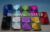 100pcs/lot Free shipping-Newest Metal Aluminum Hard Case Cover Skin For Ipod Touch 5th Generation