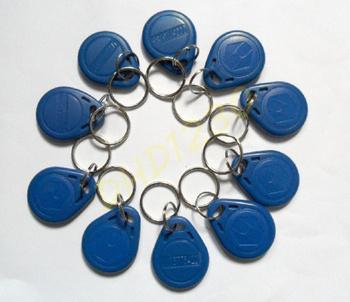 Free Shipping 10pcs/lot RFID Proximity Access Control Card Key Tag 125Khz EM4100