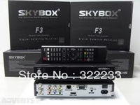 Good Original Skybox F3 satellite receiver Skyobx F3 HD 1080p support usb wifi cccam newcam YouTube YouPorn free shipping
