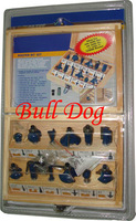 Free Shipping ---12 Piece Tungsten Carbide Router Bits Set ,1/4'' Shank with Wooden Carry Case
