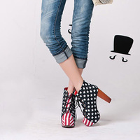 Женские ботинки 130809-003 Special Heel Jeffrey Campbell Ankle Booties Black Red Color Suede Leather Ladies' Boots Summer