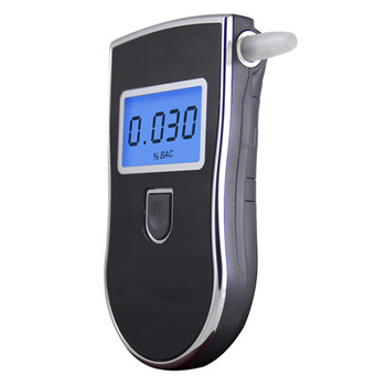8pcs/Lot Free shipping, Factory Wholesale Prefessional Police Digital Breath Alcohol Tester Breathalyzer Dropshipping