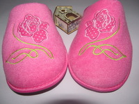 Free shipping hot sale lady indoor slipper women home in slippers floor shoes