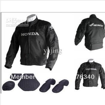 Free shipping 2012 new 1pcs Honda Racing protection Oxford Nylon Jacket.Motocross jacket.racing,motorbike clothing [TEY5]