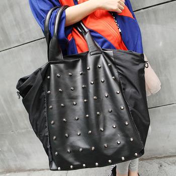 free shipping!2014 new trend women's handbag vintage messenger bag rivet bag !hot sale