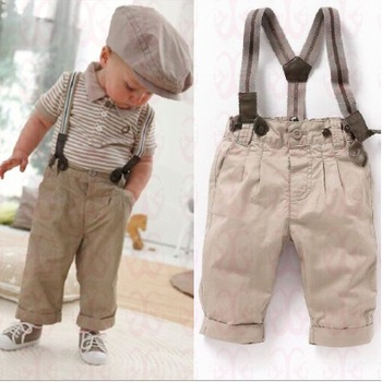 DZ-479,5 sets/lot free shipping baby clothing sets cute boy 2 pcs suit (t-shirt+overalls) summer kids clothes sets wholesale