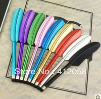 wholesale 100pcs Colorful Legend Feather Stylus touch Pen Screen Touch Pen for iPad iPhone DHL FEDEX free