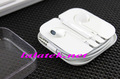 Brand New in Box For iPhone 5 Earpods Earphone Head phone with Volume Remote &amp; Mic Free Shipping