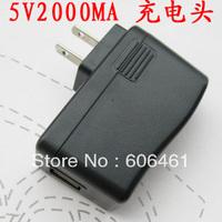DHL EMS Free Shipping 200pcs EU Plug/US Plug, USB Charger Adapter, European Travel Plug, Power Supply AC 100-240V DC 5V 2A