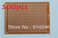 Free shipping, 100pcs   Universal board 5CM * 7CM experimental board