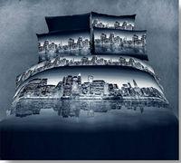 KING Queen bed 4pcs unique 3d bedding set bedding duvet set Free Fast SHIPPING