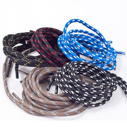 High quality professional outside sport elastic shoelace hiking waterproof p.v circle lengthen boots(China (Mainland))