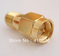 Free shipping  1pcs RF SMA adapter RP SMA Jack to SMA Plug straigh