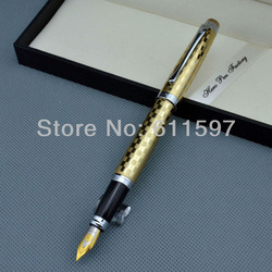 NEW HERO Fountain Pens 590 Gold medium Nib point Pen(China (Mainland))