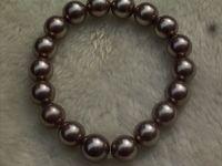 10mm fashion coffee sallei elastic bracelets bracelet