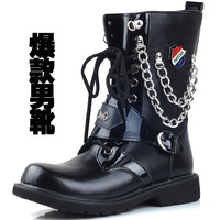Free shipping,Han winter restore ancient ways male boots