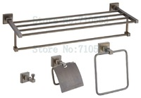 New Arrival-Antique Bathroom Accessories Set,Towel Rack,Towel Ring,Tissue Holder,Robe Hook - Free Shipping (K2700-13)