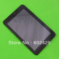 Free shipping LCD display & Touch Screen Digitizer Assembly For Acer Iconia Tab A110 Tablet