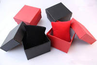 12pcs/lot size 85*80*55mm factory wholesale watch boxes with high quality-free shipping-mix color